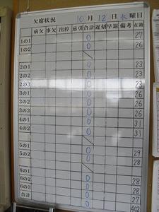 欠席0 10月12日.JPG
